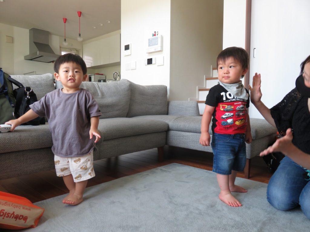 1歳7ヶ月と1歳5ヶ月
