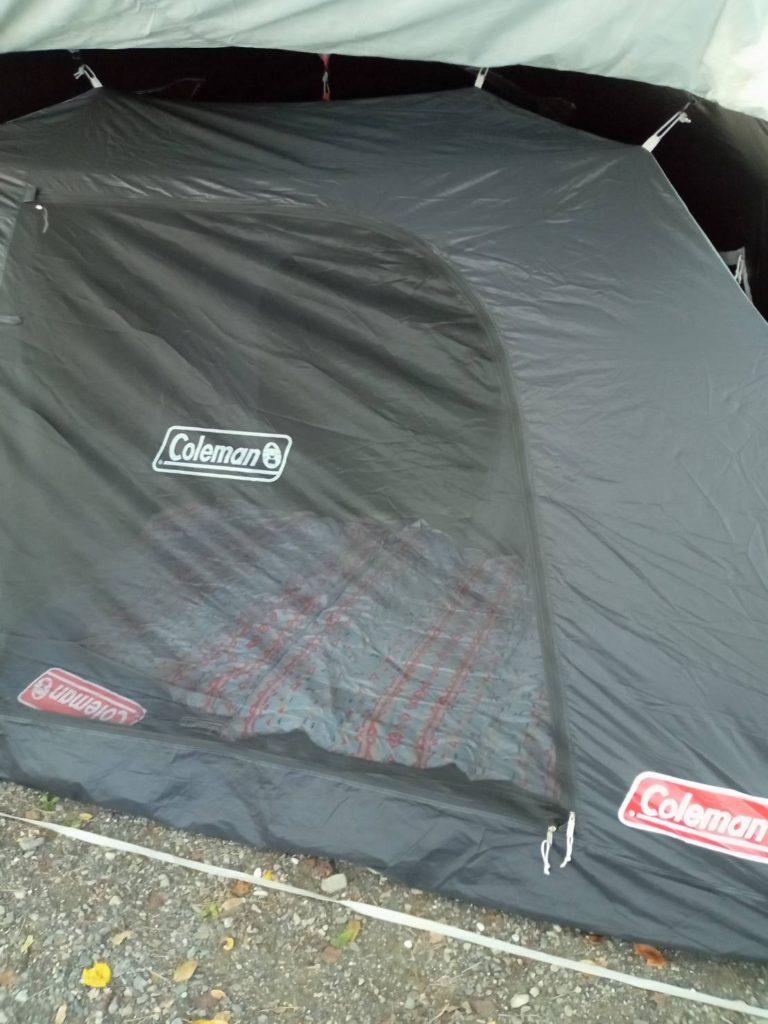 昼間のテント
